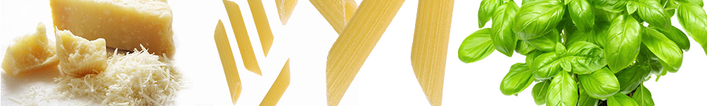 Penne rigate al basilico