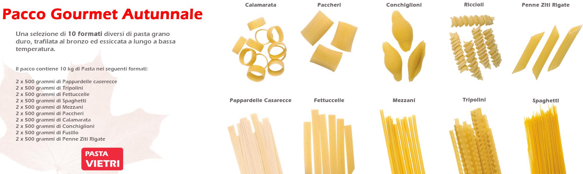 La nostra selezione di formati per assaporare assieme il gusto dell'autunno!