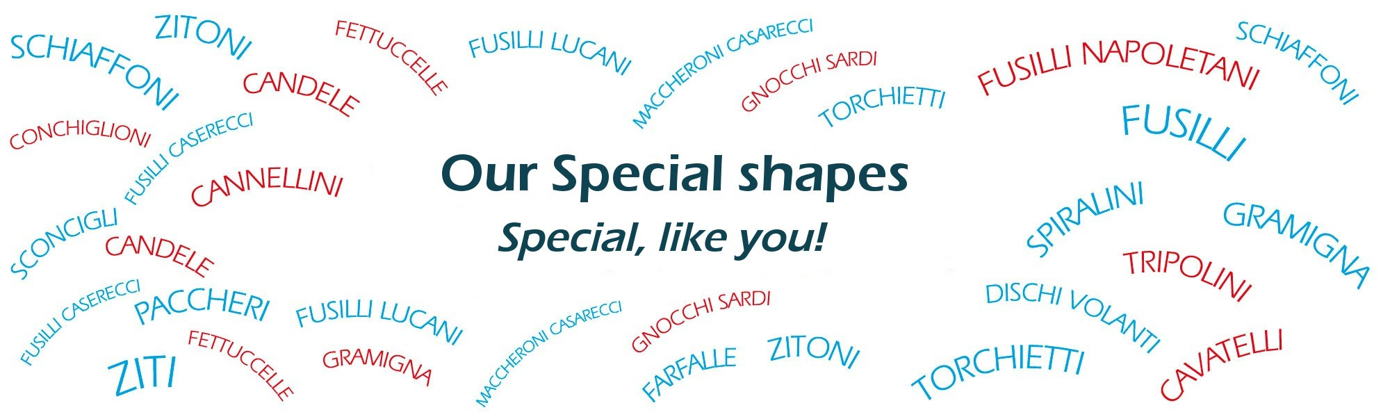 Our special shapes